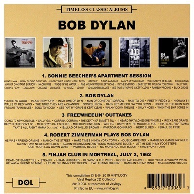 BOB DYLAN – TIMELESS CLASSIC ALBUMS