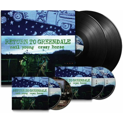 NEIL YOUNG & CRAZY HORSE – RETURN TO GREENDALE boxset