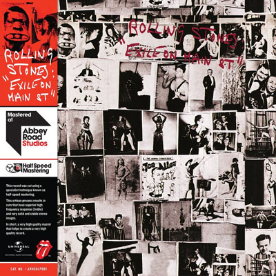 ROLLING STONES - EXILE ON MAIN ST. (HALF-SPEED MASTERED)