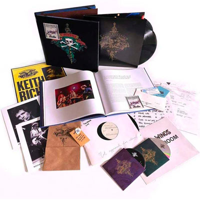 KEITH RICHARD & THE X-PENSIVE WINOS – LIVE AT THE HOLLYWOOD PALLADIUM (SUPER-DELUXE EDITION) box set